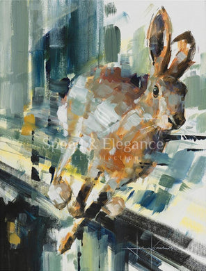Hare Speed | Limited Edition Art Print By John Ketchell