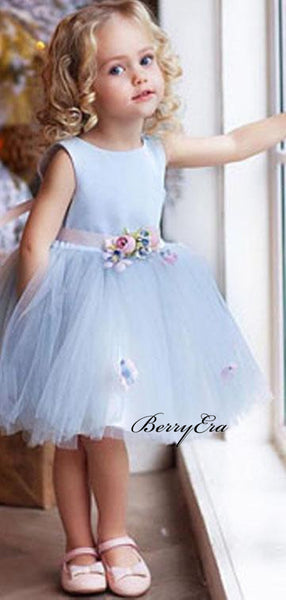 Cute Girl Wedding Flower Girl Dresses, Princess Little Girl Dresses