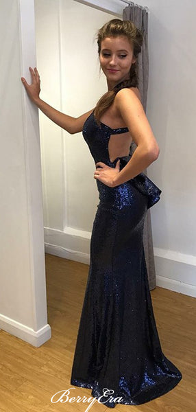 Popular Mermaid Sexy Long Prom Dresses. Sequins Prom Dresses