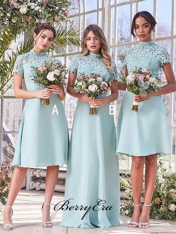 A-line Bridesmaid Dresses, Lace New Bridesmaid Dresses