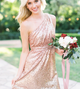 Mismatched Sequin Bridesmaid Dresses, Long Bridesmaid Dresses, Wedding Guest Dresses
