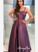 Spaghetti Straps Fancy Prom Dresses, New Prom Dresses, Graduation Party Dresses