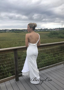 Unique Custom Design Wedding Dresses, Fashion Open Back Wedding Dresses