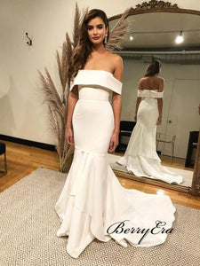 Newest Off The Shoulder Wedding Dresses, Bridal Wedding Dresses, Bridal Gowns