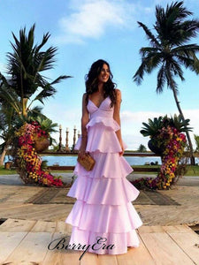 Fluffy Sweet Holiday Party Prom Dresses, Elegant Beauty Prom Dresses 2019