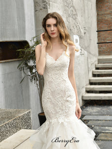 Elegant Lace Wedding Dresses, Newest Wedding Dresses, Bridal Gowns