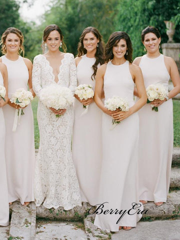 Wedding Bridesmaid Dresses 2019, Custom Design Bridesmaid Dresses