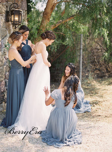 Simple Custom Strapless Wedding Dresses, Popular Wedding Dresses, Bridal Gowns