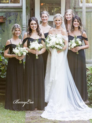 Popular Straps Wedding Guest Dresses, Bridesmaid Dresses