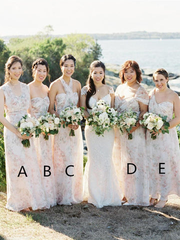 Fashionable Mismatched Bridesmaid Dresses, Wedding Guest Dresses