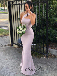 Jersey Mermaid Wedding Party Guest Dresses, Long Bridesmaid Dresses, Bridesmaid Dresses