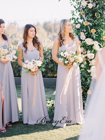 Popular Chiffon Bridesmaid Dresses, Elegant Wedding Guest Dresses, Bridesmaid Dresses
