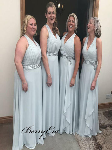 Halter Chiffon Bridesmaid Dresses, Popular Bridesmaid Dresses