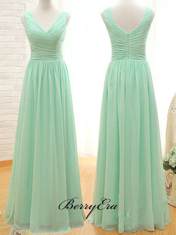 High Fashion A-line Bridesmaid Dresses, Chiffon Bridesmaid Dresses