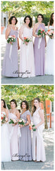 New Arrival Chiffon Wedding Bridesmaid Dresses, Mismatched Bridesmaid Dresses