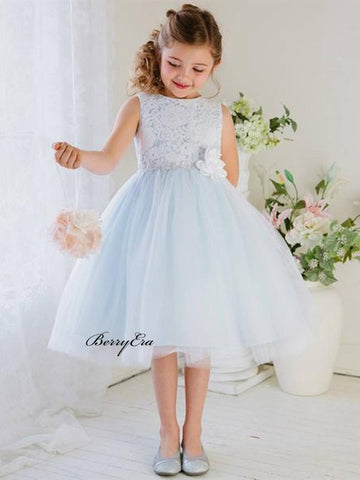Popular Lace Little Girl Wedding Flower Girl Dresses