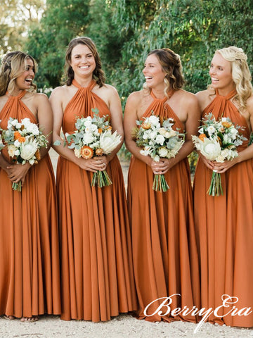 Convertible Long Jersey Bridesmaid Dresses, Popular Bridesmaid Dresses