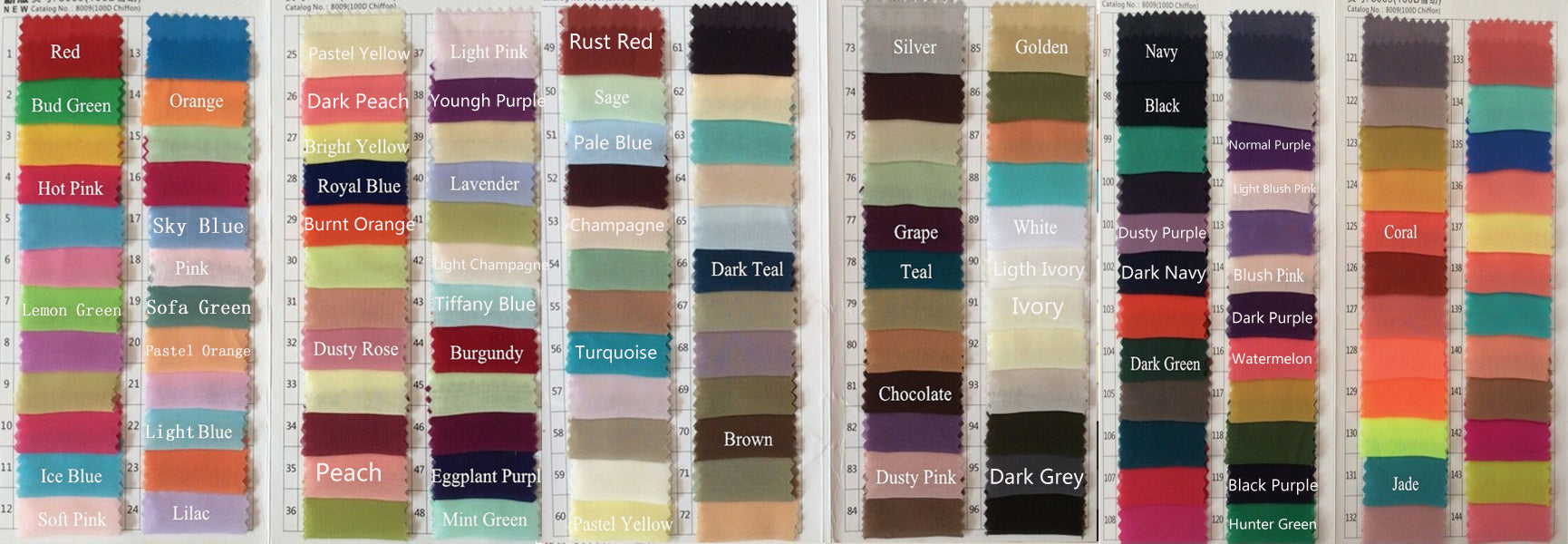 Fabric Swatches(fabrics are free, only need to buy it once)