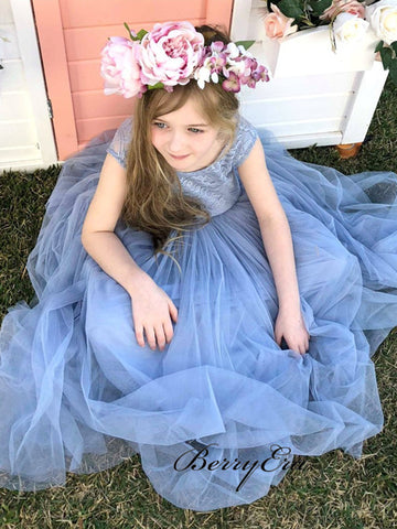 Wedding Flower Girl Dresses, Lace Flower Girl Dresses