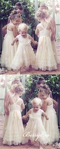 Lovely Tulle Little Girl Dresses, Flower Girl Dresses