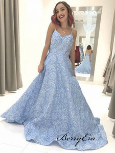 2019 Newest Modest Prom Dresses, Elegant Long Prom Dresses