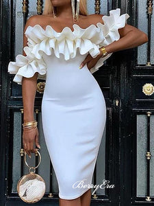Off Shoulder Homecoming Dresses, Mermaid Short Prom Dresses