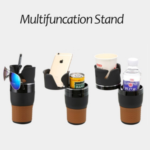 Multi-Function Car Cup Holder Storage Organizer - systematicshop.com