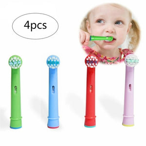 4pcs Replacement Kids Children Tooth Brush Heads