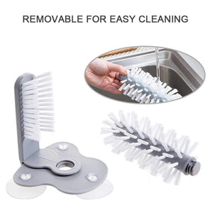 2 In 1 Creative Suction Wall Lazy Cup Brush Dishwashing Kitchen - systematicshop.com