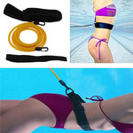 Adjustable Swimming Training Resistance Belt - systematicshop.com