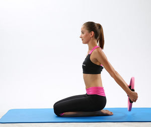 Yoga Circle Pilates Ring Magic Wrap Slimming Body Building Training - systematicshop.com