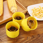 Yellow Corn Plane Peeler Cob Thresher Kitchen Gadgets - systematicshop.com