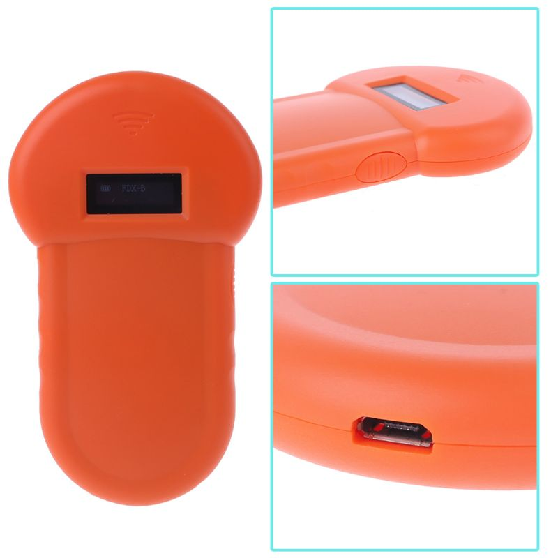 Pet ID Reader USB Rechargeable Animal Chip Digital Scanner - systematicshop.com