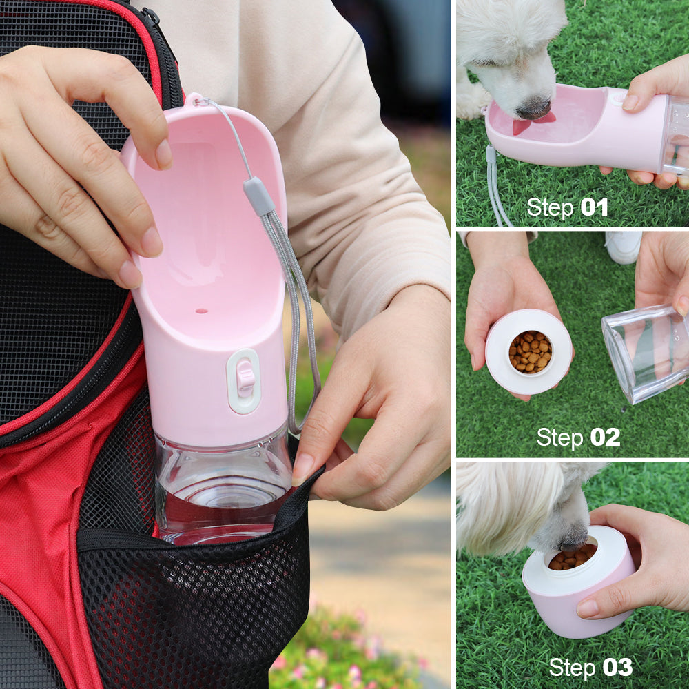 New Pet Dog Water Bottle Feeder Dispenser - systematicshop.com