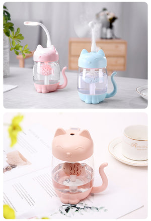 3 IN 1 Cat Air Humidifier Aroma Diffuser 350ML