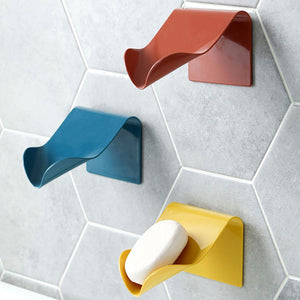 High Quality Seamless Wall-Mounted Soap Holder Drainage Storage - systematicshop.com