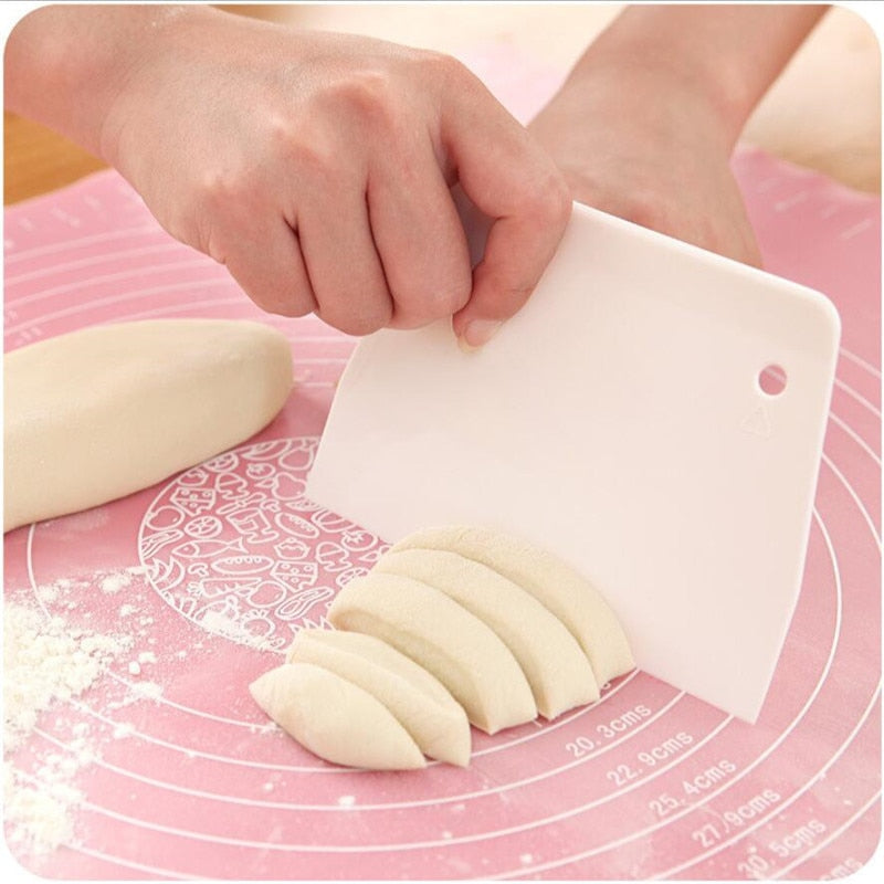 Sale Cream Smooth Cake Trapezoid Spatula Baking Pastry Tools - systematicshop.com