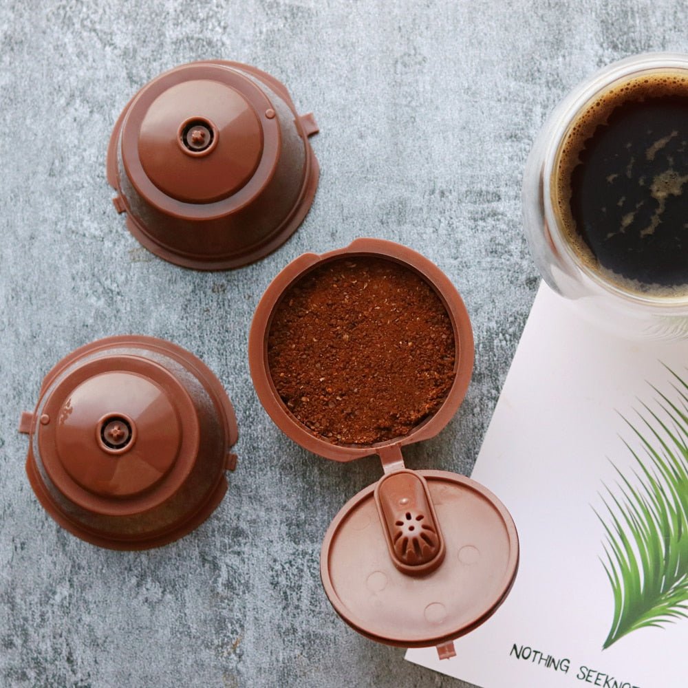 Reusable Dolce Gusto Coffee Capsule