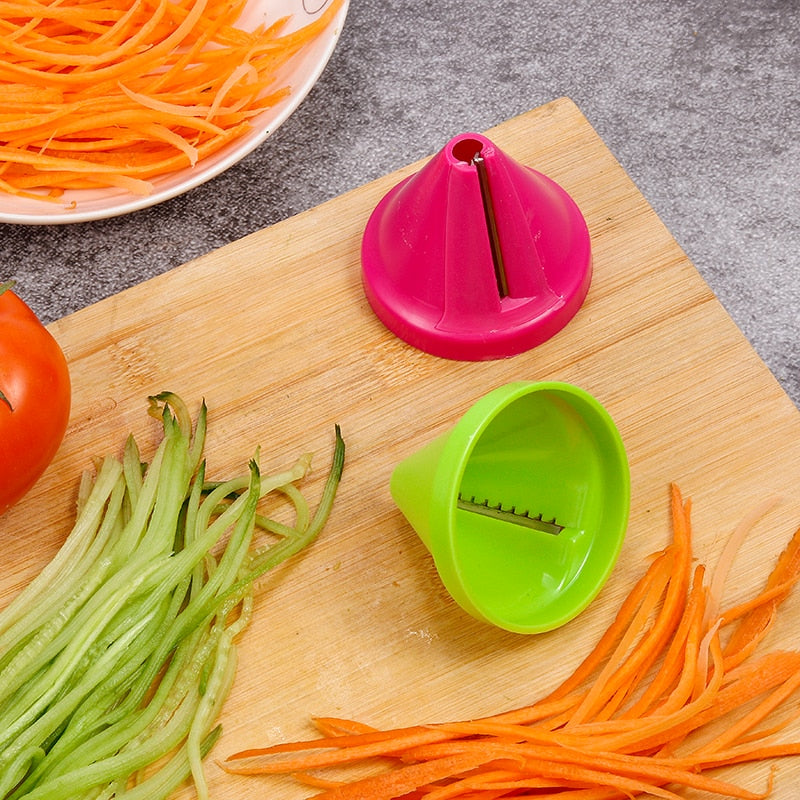 Vegetable Fruit Slicer Cut Fries Potato Gadget Funnel Shred  Accessories - systematicshop.com