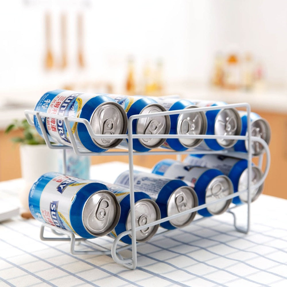 Kitchen Organizer Can Holder Storage Rack