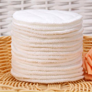 10pcs Washable Cotton Reusable Make Up Remover Pad - systematicshop.com