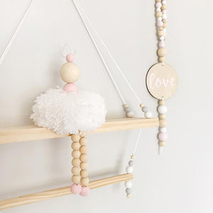 Nordic Style Ballet Dancer Hanging Decoration