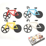 New Design Stainless Steel Pizza Knife Two-wheel Bicycle Shape - systematicshop.com