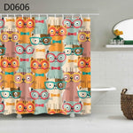 Animal Printed Shower Curtain