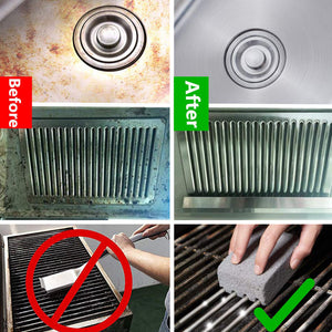 BBQ Grill Cleaning Brick Block Barbecue Cleaning Stone