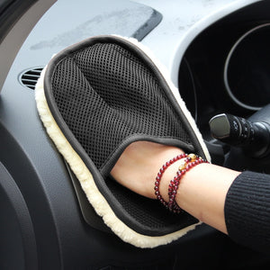 Soft Car Washing Gloves Cleaning Brush