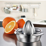 Portable lemon orange manual fruit juicer