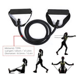 5 Levels Resistance Bands with Handles Yoga Pull Rope