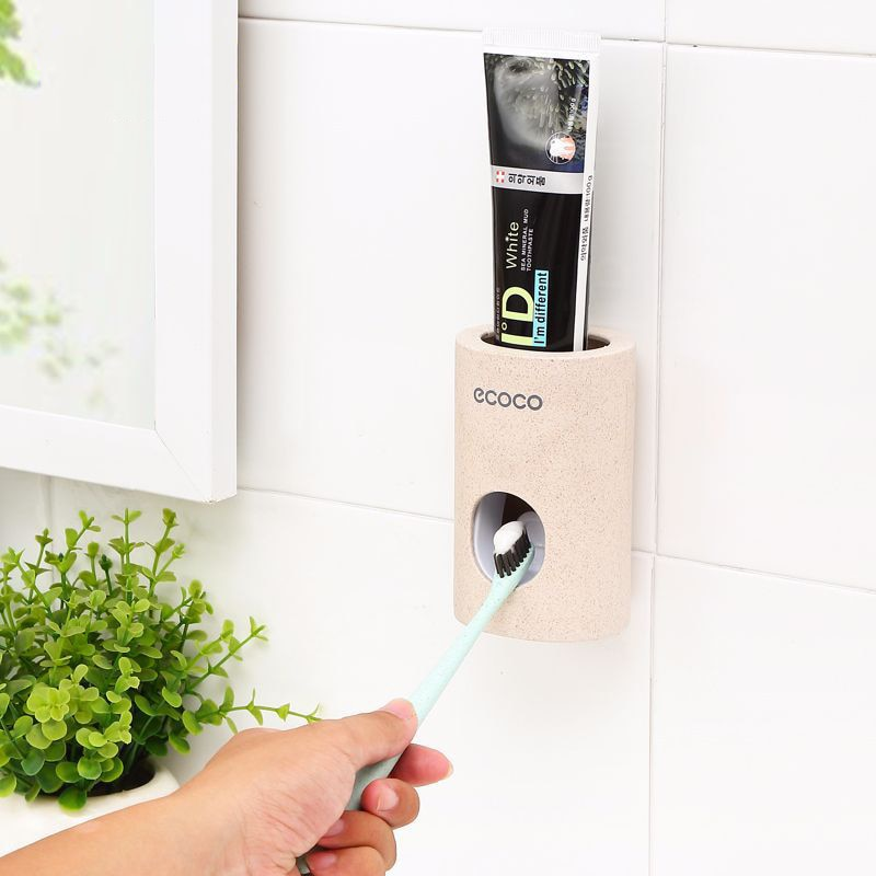 Automatic Toothpaste Dispenser Dust-proof Toothbrush Holder - systematicshop.com