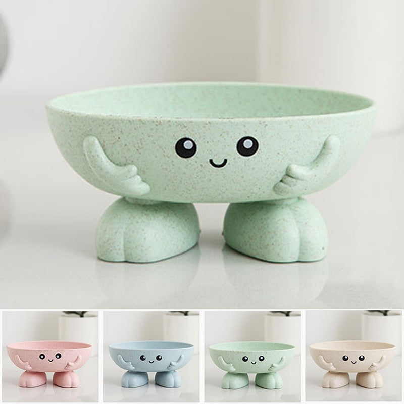 1Pcs Soap Box Eco-friendly  Non-slip Soap Dish Bathroom Supplies - systematicshop.com